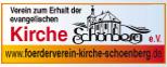 Logo Verein zum Erhalt der evangelischen Kirche Sch�nberg e.V.
